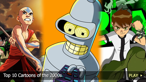 Top 10 Cartoons of the 2000s