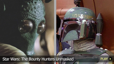Star Wars: The Bounty Hunters Unmasked
