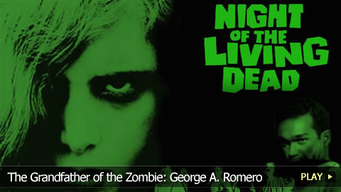 Zombie Guru and Horror Director George A. Romero