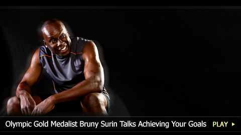 Olympic Gold Medalist Bruny Surin Talks Achieving Your Goals
