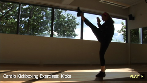 Cardio Kickboxing Exercises: Kicks