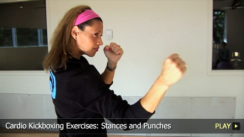Cardio Kickboxing Exercises: Stances and Punches