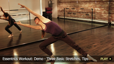 Essentrics Workout: Demo - Basic Stretches, Tips