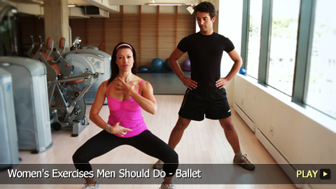 Women's Exercises Men Should Do - Ballet