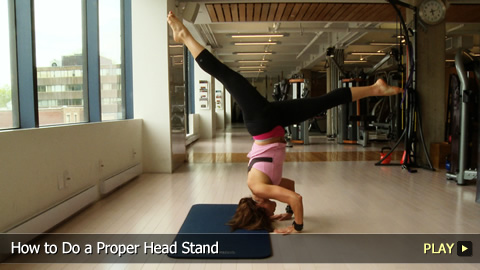 How to Do a Proper Head Stand