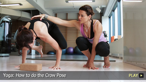 Yoga: How to do the Crow Pose