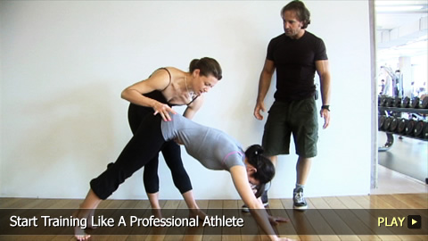 Start Training Like A Professional Athlete
