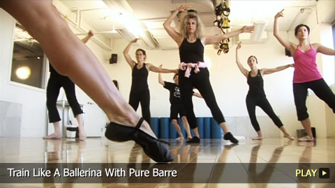 Train Like A Ballerina With Pure Barre