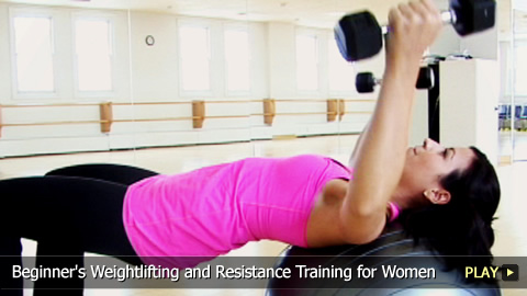 Beginner's Weightlifting and Resistance Training for Women
