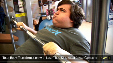Total Body Transformation with Less Than Kind Actor Jesse Camacho