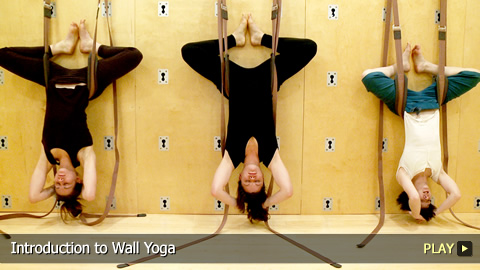 Introduction to Wall Yoga