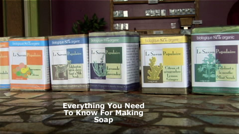 Handmade Planet Friendly Soaps