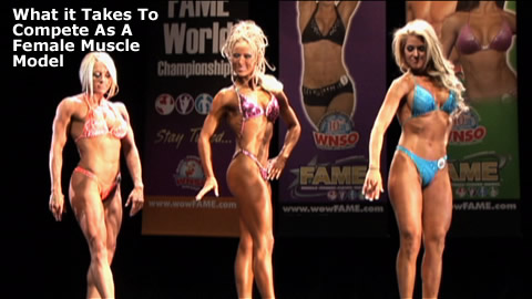 Female Muscle Model Competition Guide