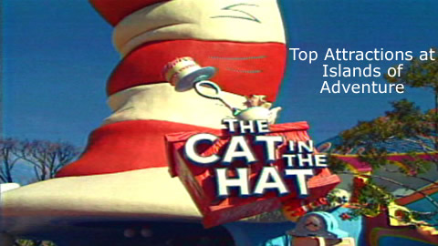 Top Attractions at Islands of Adventure