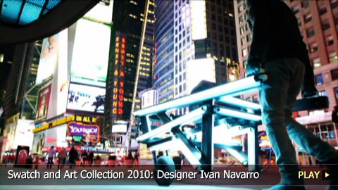 Swatch and Art Collection 2010: Designer Ivan Navarro