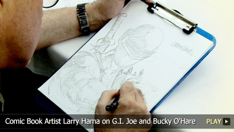 Comic Book Artist Larry Hama on G.I. Joe and Bucky O'Hare