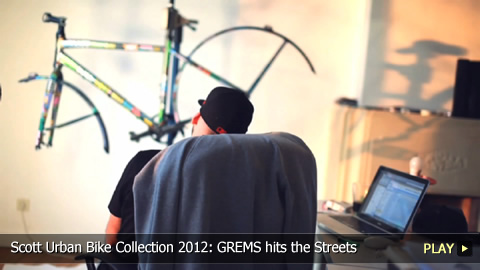 Scott Urban Bike Collection 2012: GREMS Takes His Art to the Streets