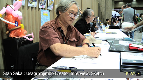 Stan Sakai: Usagi Yojimbo Creator Interview, Sketch