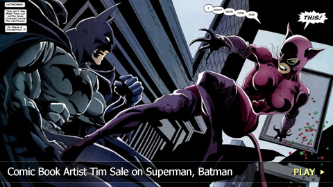 Comic Book Artist Tim Sale on Superman, Batman