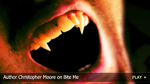 Author Christopher Moore on Bite Me