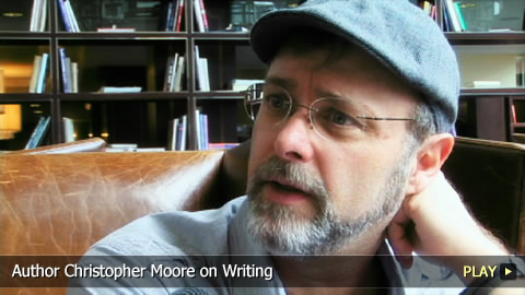 Author Christopher Moore on Writing