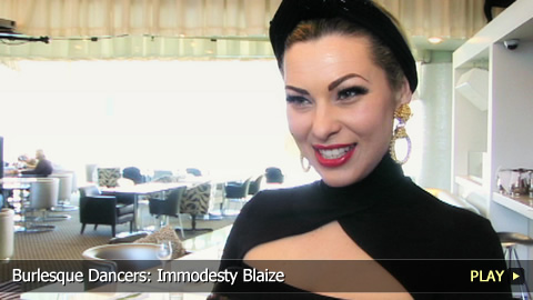 Burlesque Dancers: Immodesty Blaize