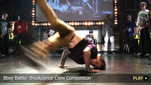 Bboy Battle: Breakdance Crew Competition