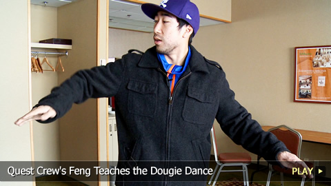 Quest Crew's Feng Teaches the Dougie Dance