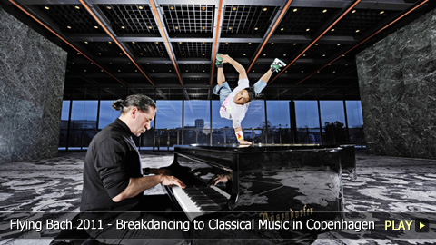 Flying Bach 2011 - Breakdancing to Classical Music in Copenhagen