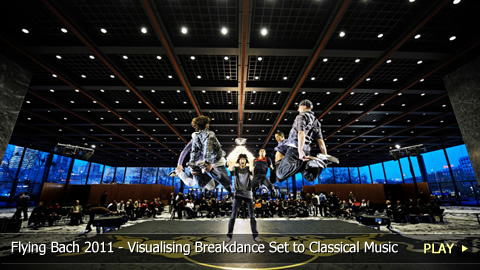 Flying Bach 2011 - Visualising Breakdance Set to Classical Music