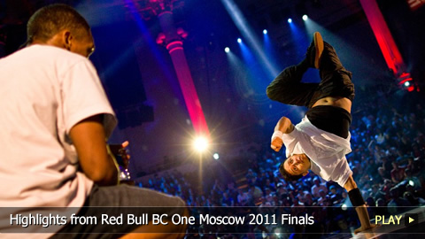 Breakdance Highlights from Red Bull BC One Moscow 2011 Finals