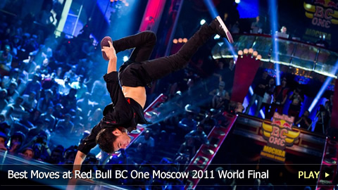 Best Breakdancing at Red Bull BC One Moscow 2011 World Final