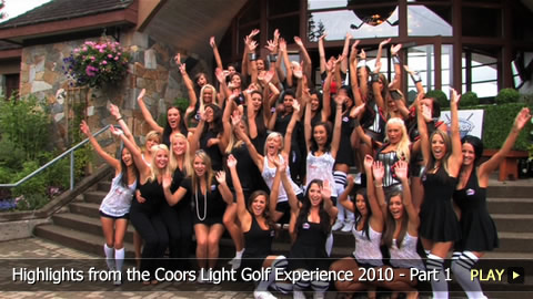 Highlights from the Coors Light Golf Experience 2010 - Part 1