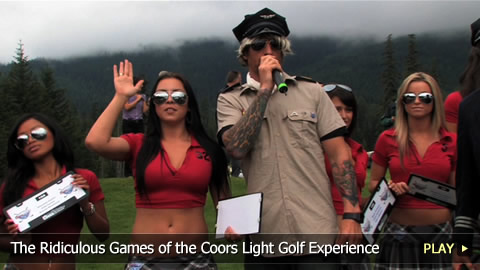 The Ridiculous Games of the Coors Light Golf Experience