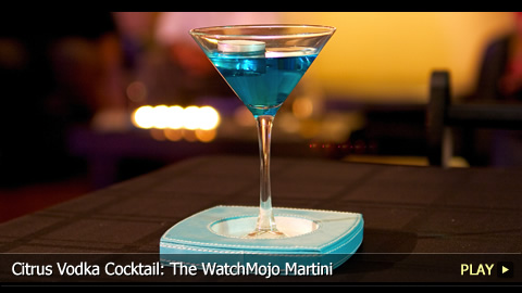 Citrus Vodka Cocktail: The WatchMojo Martini