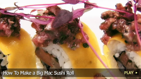 How To Make a Big Mac Sushi Roll
