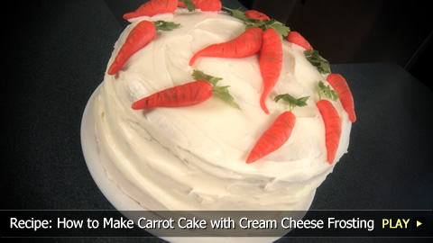 Recipe: How to Make Carrot Cake with Cream Cheese Frosting