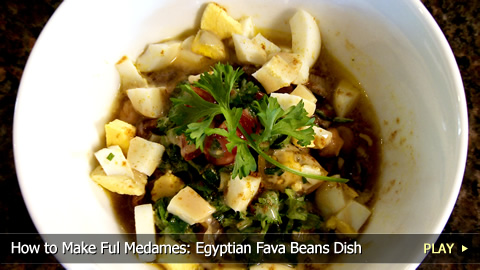 How to Make Ful Medames: Egyptian Fava Beans Dish