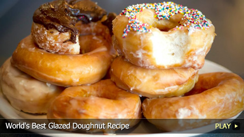 World's Best Glazed Doughnut Recipe