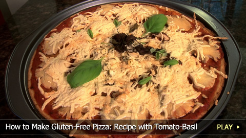 How to Make Gluten-Free Pizza: Recipe with Tomato-Basil