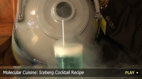 Molecular Cuisine: Iceberg Cocktail Recipe