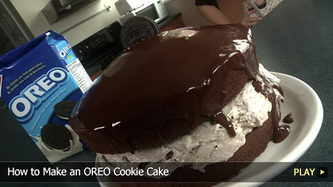 How to Make an OREO Cookie Cake