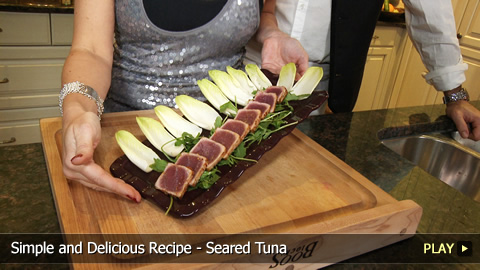 Simple and Delicious Recipe - Seared Tuna