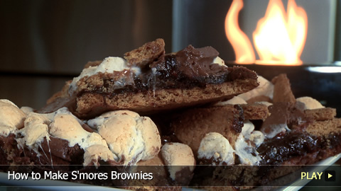 How to Make S'mores Brownies