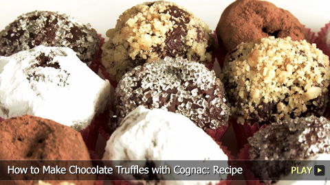 How to Make Chocolate Truffles with Cognac: Recipe