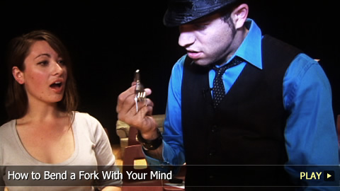 Magic Trick: How To Bend a Fork With Your Mind