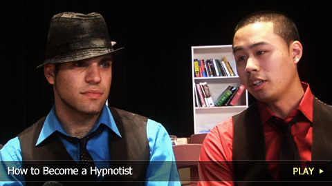 How To Become a Hypnotist