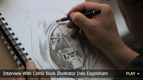 Interview With Comic Book Illustrator Dale Eagelsham