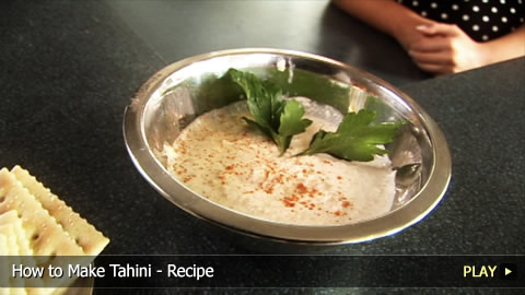 How To Make Tahini - Recipe