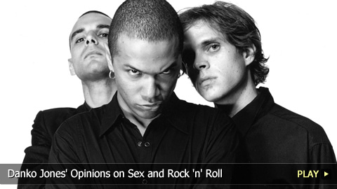 Danko Jones Opinions on Sex and Rock and Roll